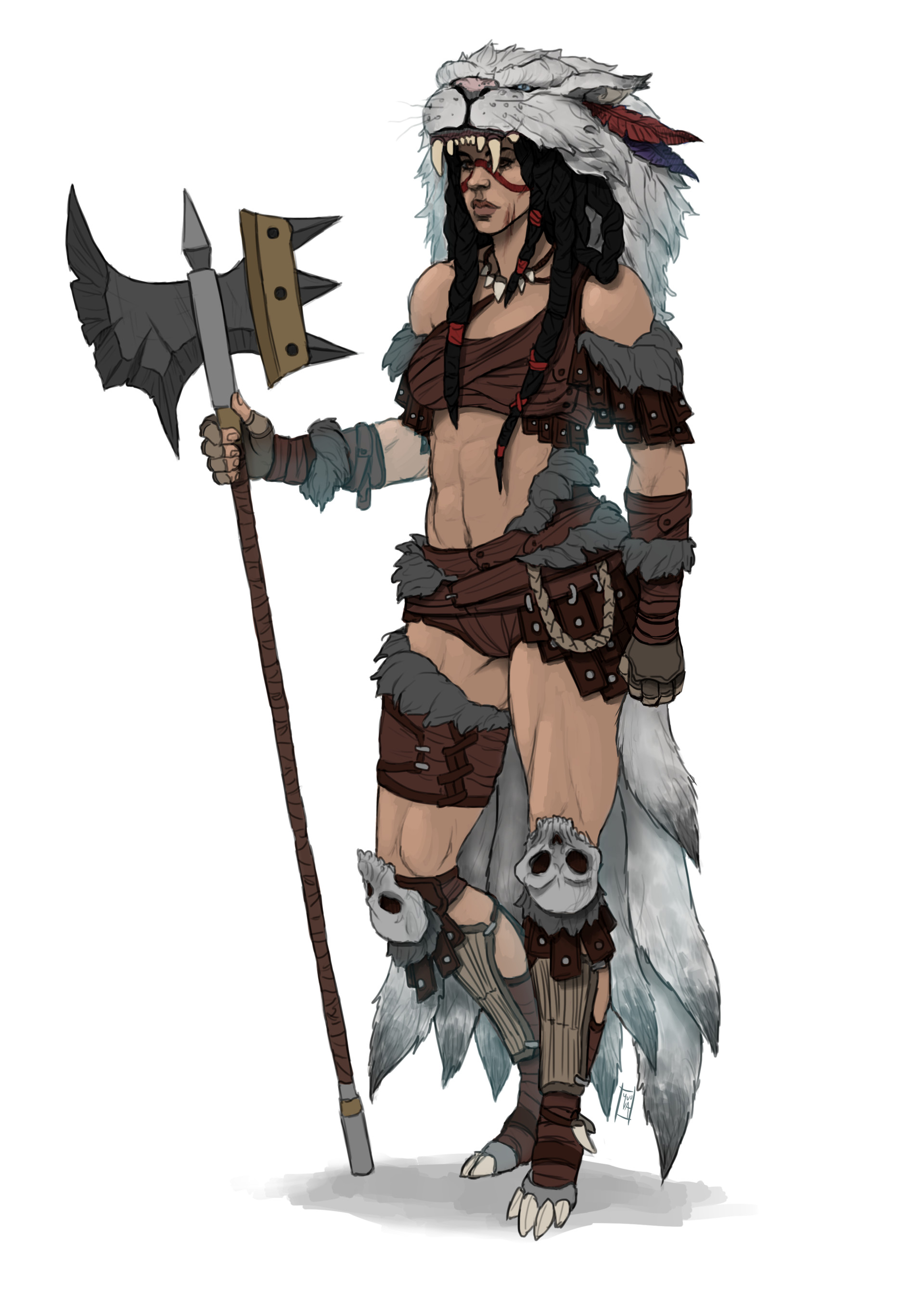 Kyle lindsey barbarian lady