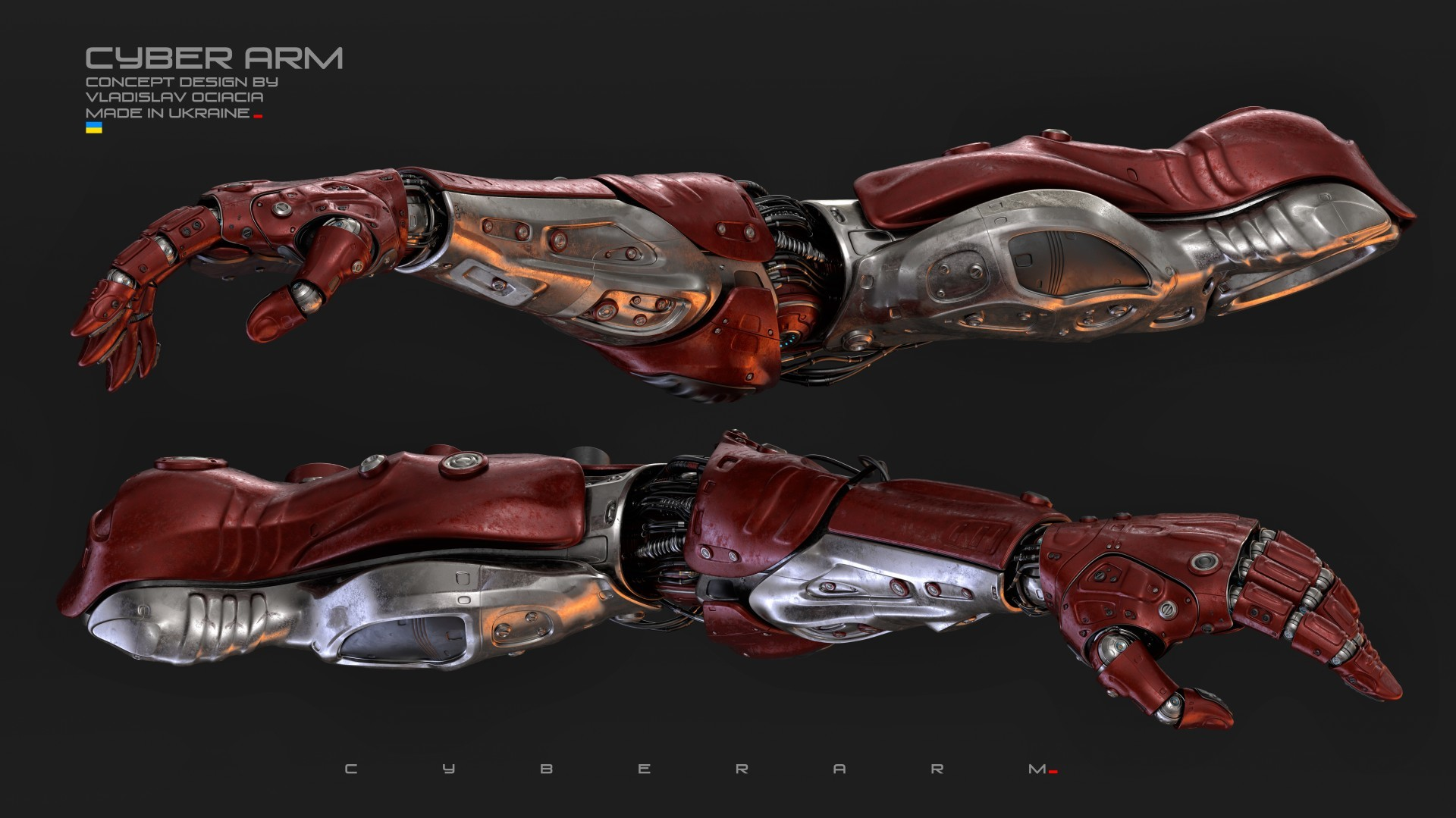 Vladislav ociacia cyber arm 7