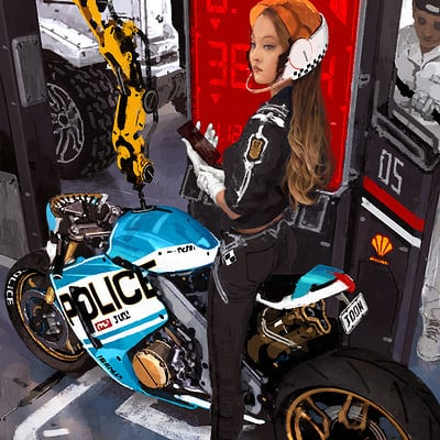 Joon ahn bike girl 05 32 1100