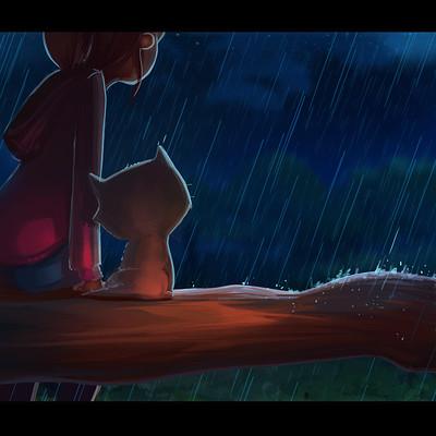 Maia zeidan rain4