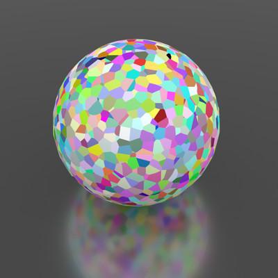 Darryl dias tiled sphere ao
