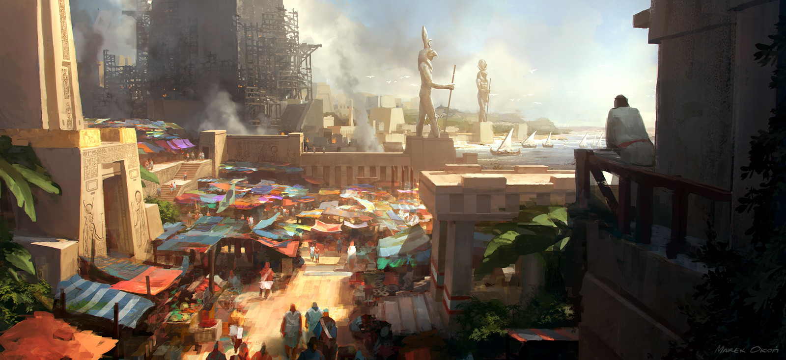 Marek okon gods of egypt 03