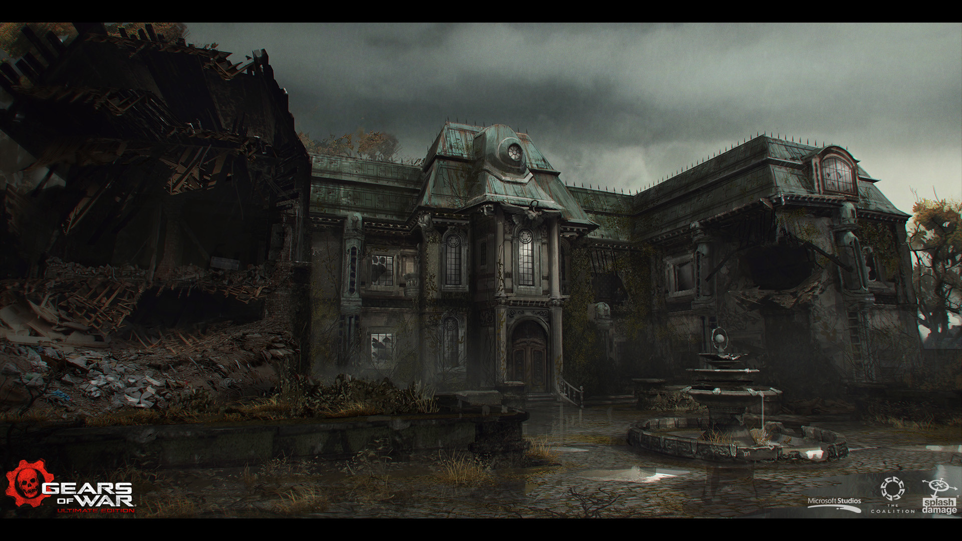 ArtStation - Gears of War: Ultimate Edition - Act 4 Environment