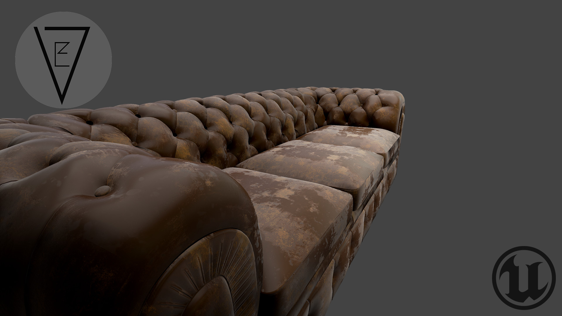 ArtStation - Leather Worn (Substance Designer), Ed Valentine