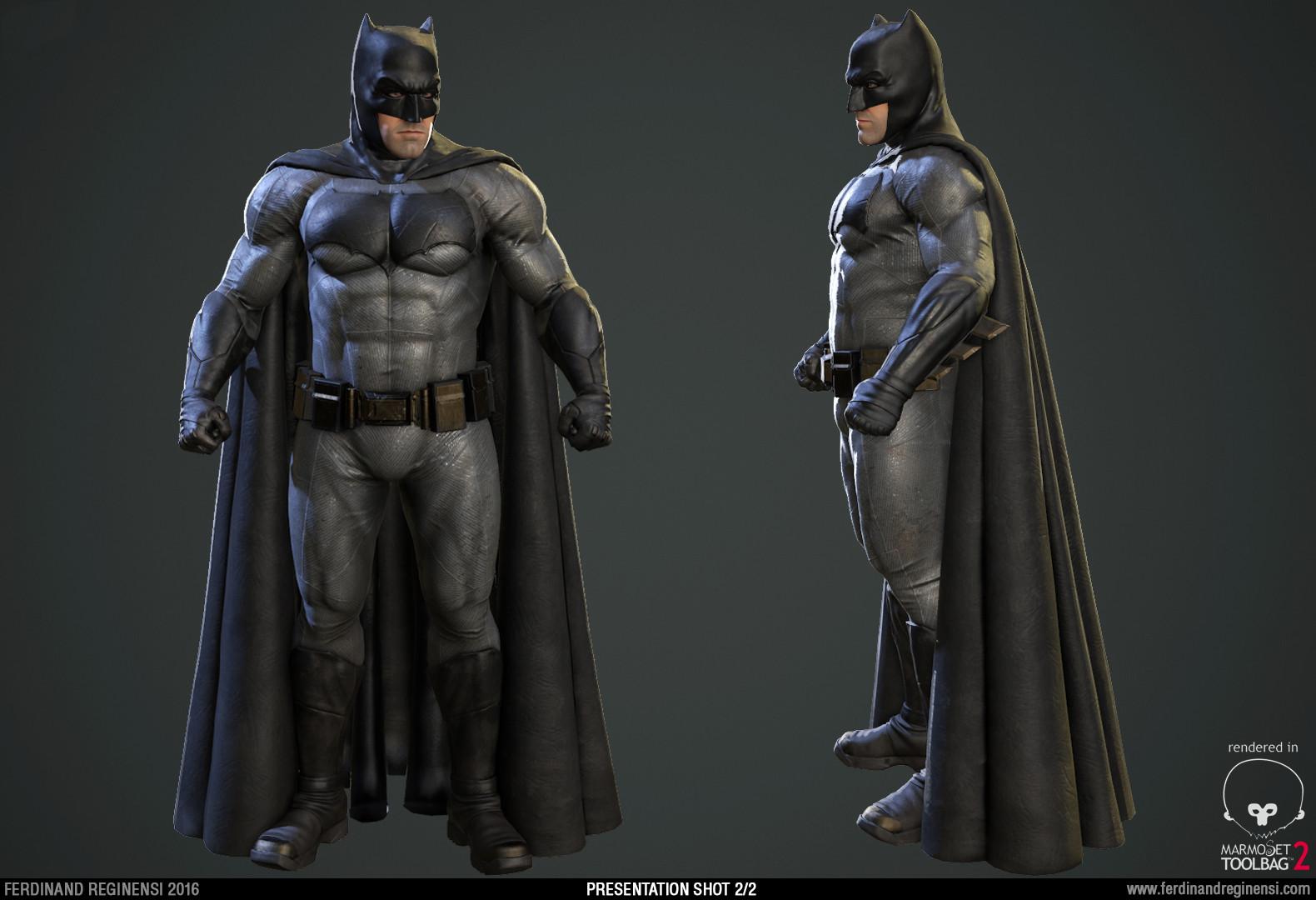 Character Design Portfolio Presentation : Ferdinand reginensi portfolio batman v superman fan art