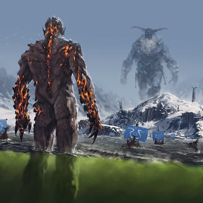 Jakub rozalski ancients conceptart 02