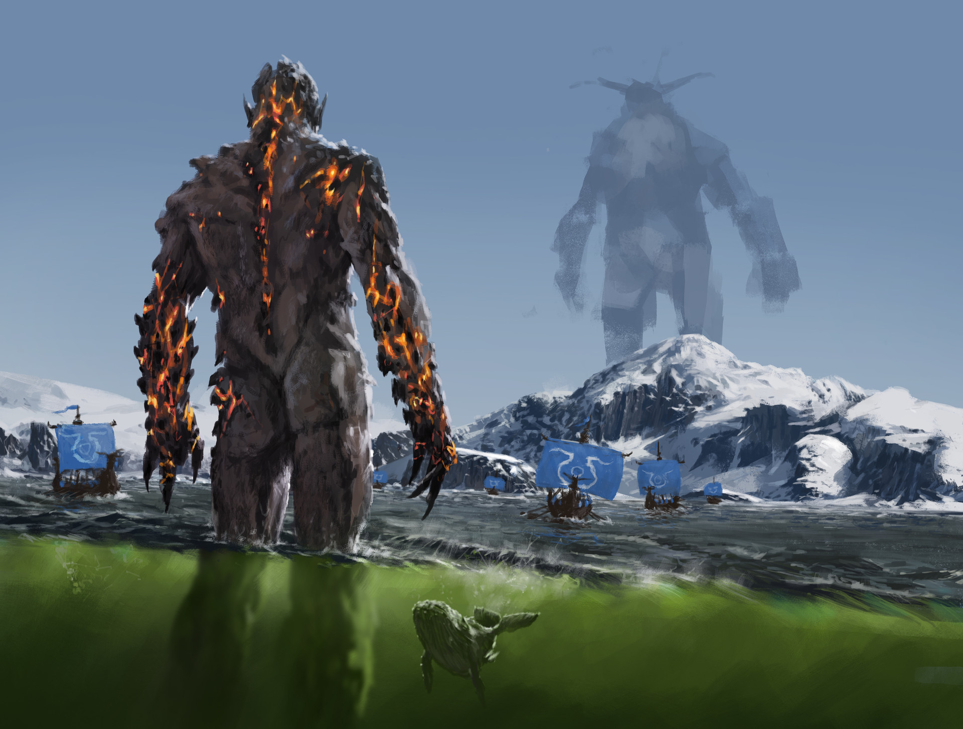 Jakub rozalski ancients conceptart 02p7