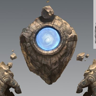 Mike mccarthy stone golem sketches1