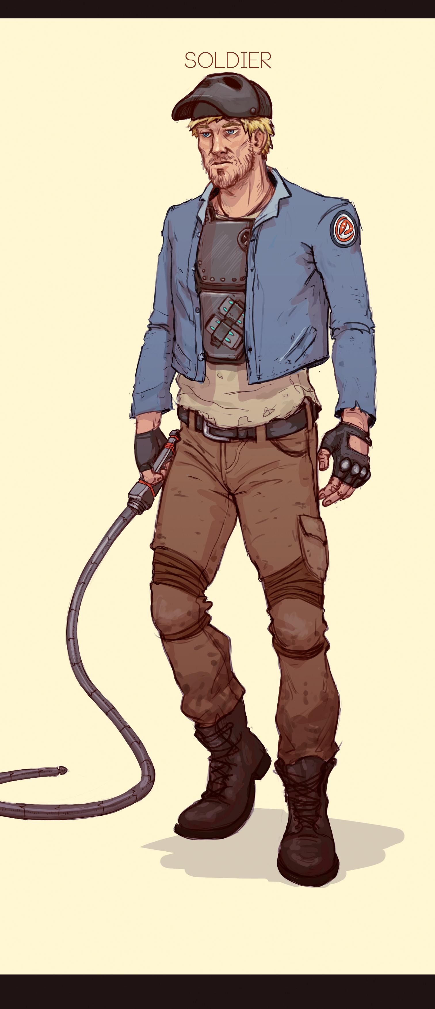Jean philippe hugonnet soldier