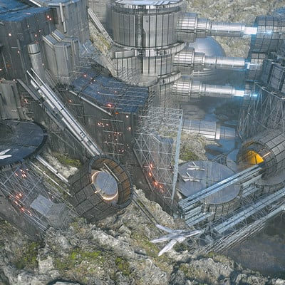 Kresimir jelusic robob3ar 262 010716 dilithium extraction facility 5k