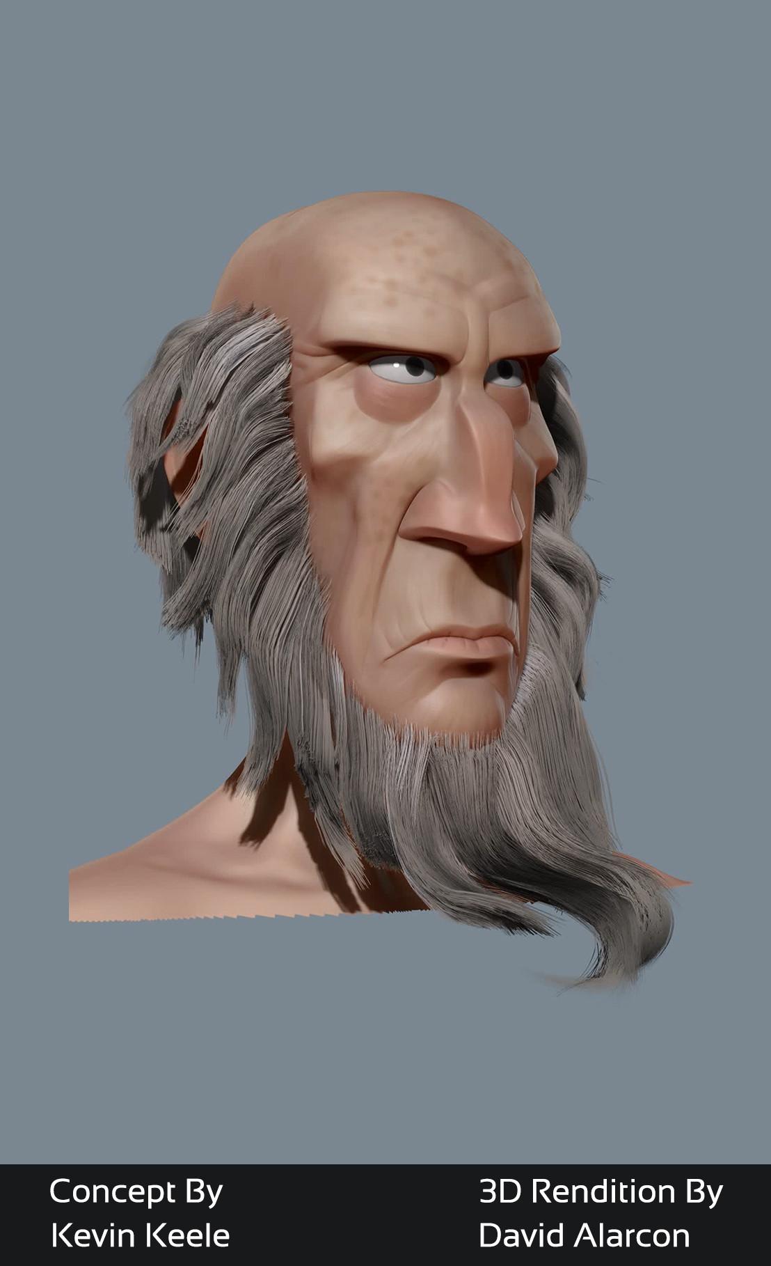 David alarcon oldbeardman