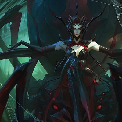 Bayard wu spider queen