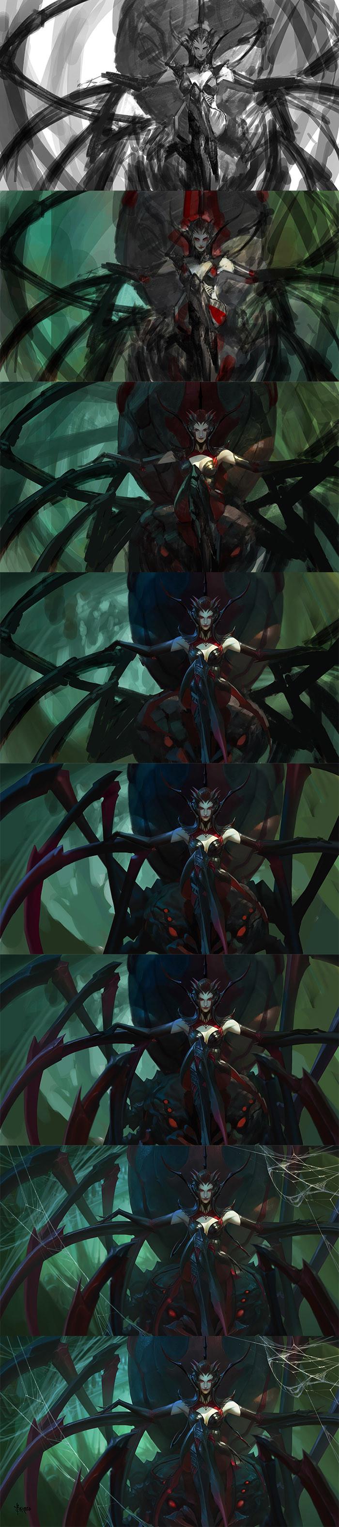 Bayard wu spider queen qqq