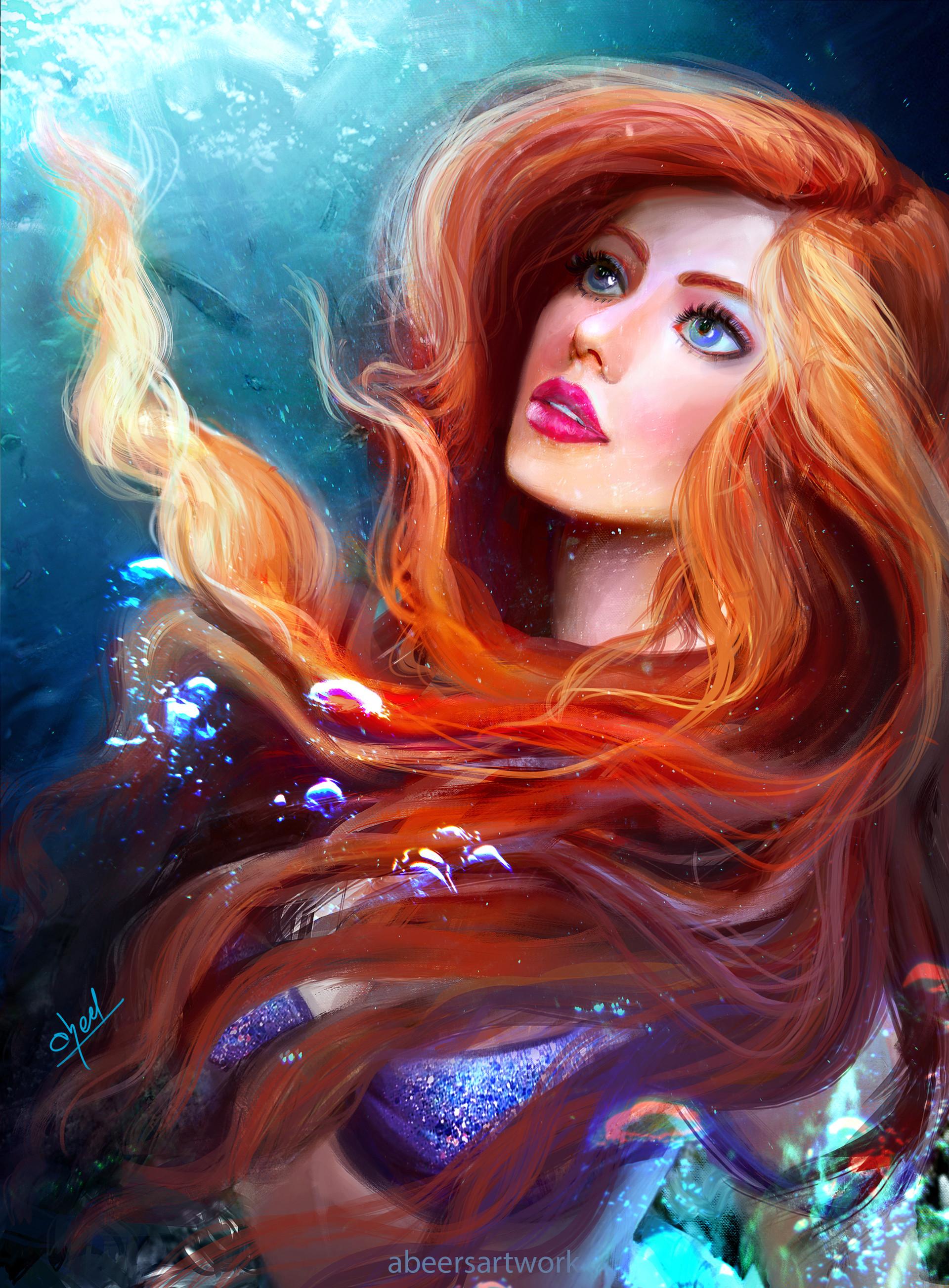 ArtStation - Ariel , abeer malik
