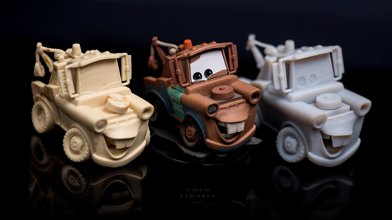 character model of Mater by BAllen