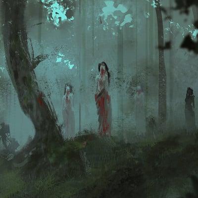 Sebastian horoszko 15 ladies of the woods