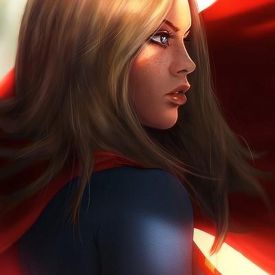 Reha sakar supergirl render