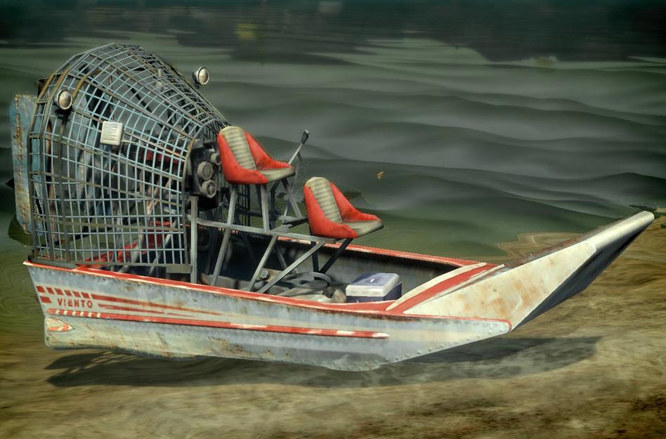 Dani santos airboat