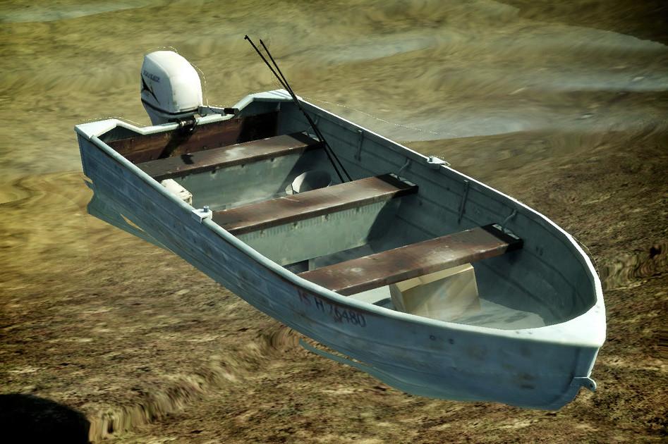 Dani santos motorboat