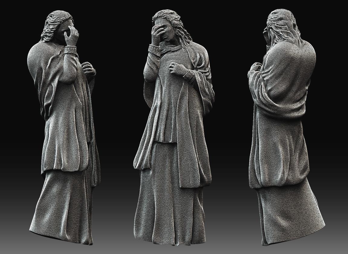 Dani santos estatua 2