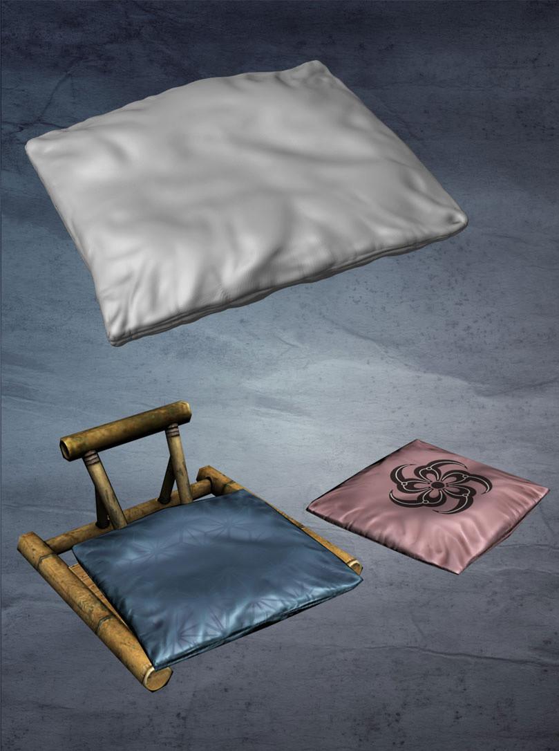 Dani santos ryo p cushion