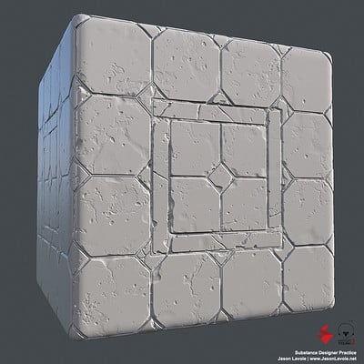 Substance Designer Practice - Floor Tile