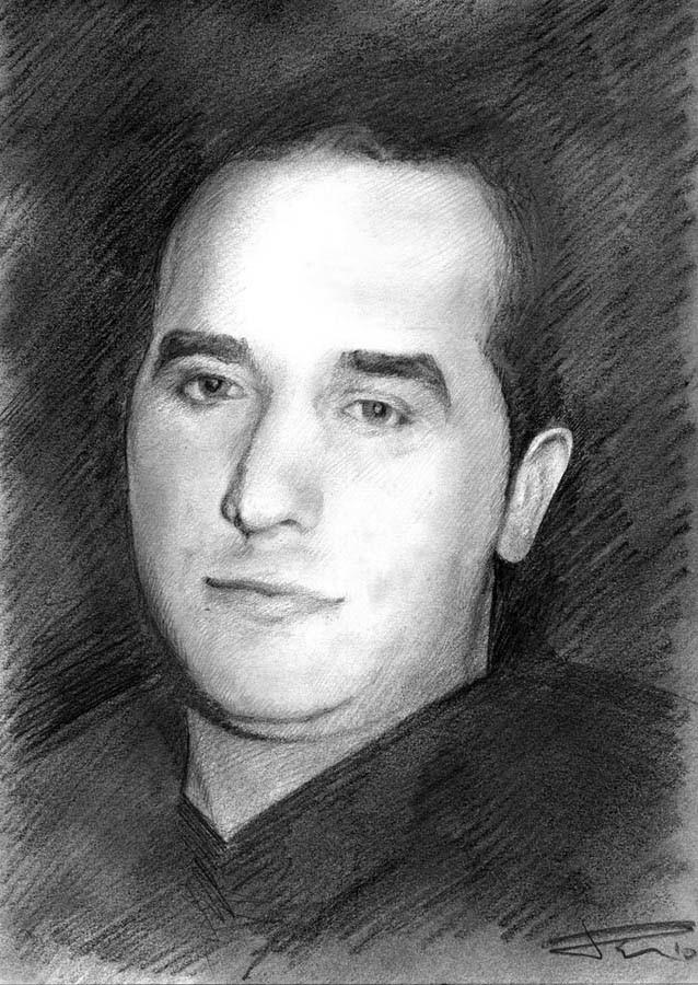 Dani santos art portrait