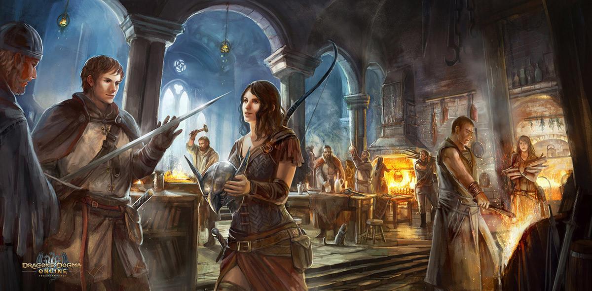 Dragon's Dogma Online: Craftroom