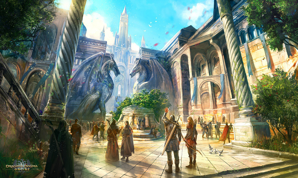 Dragon's Dogma Online: Main City