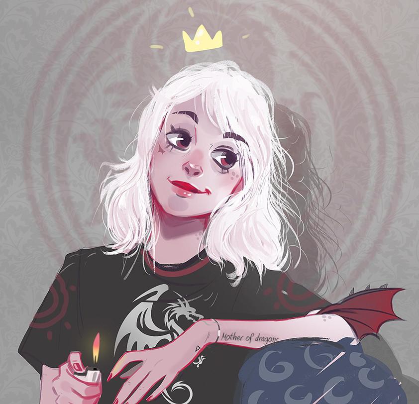 Alter native khaleesi