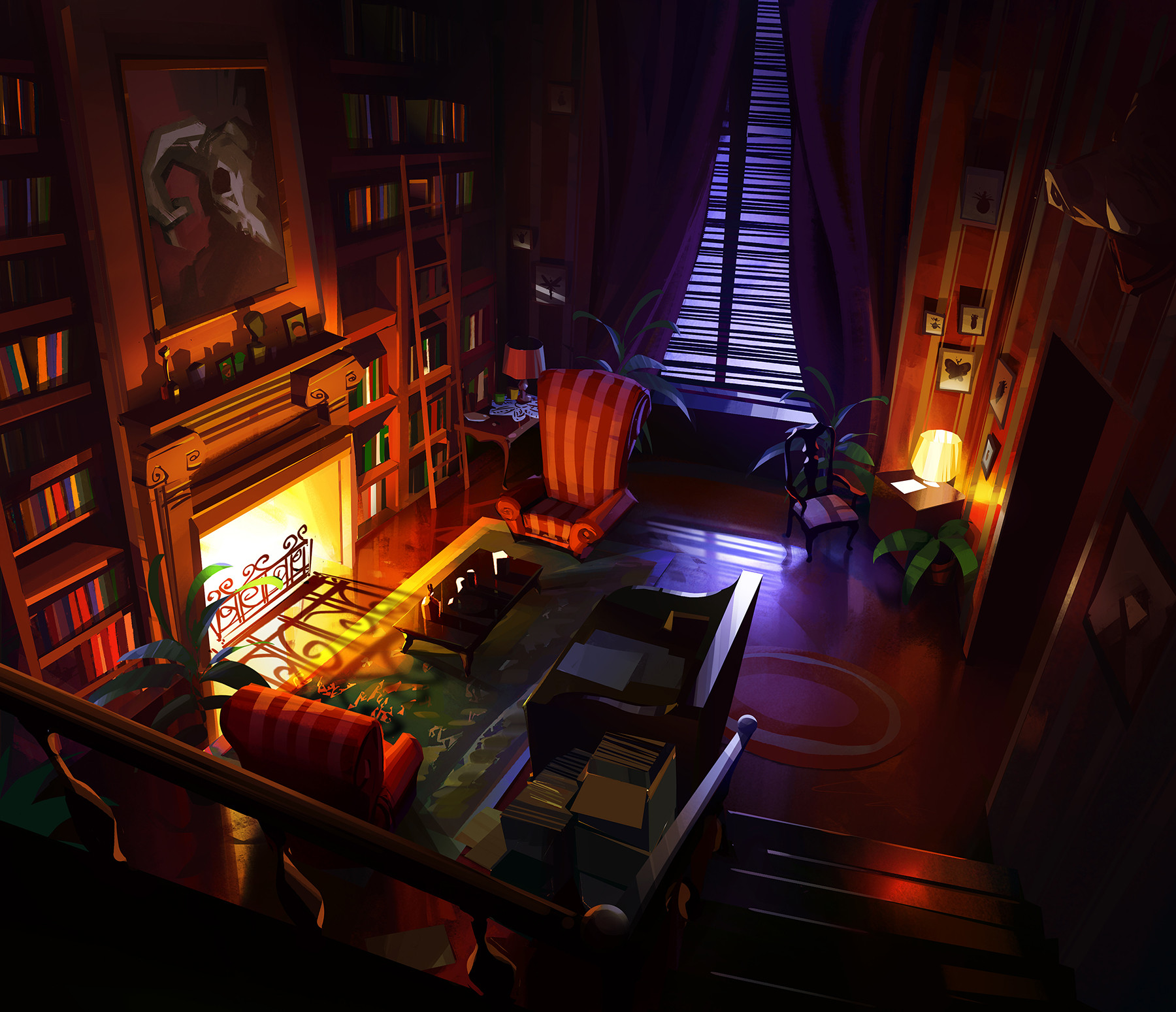 Michal sawtyruk room interior v5