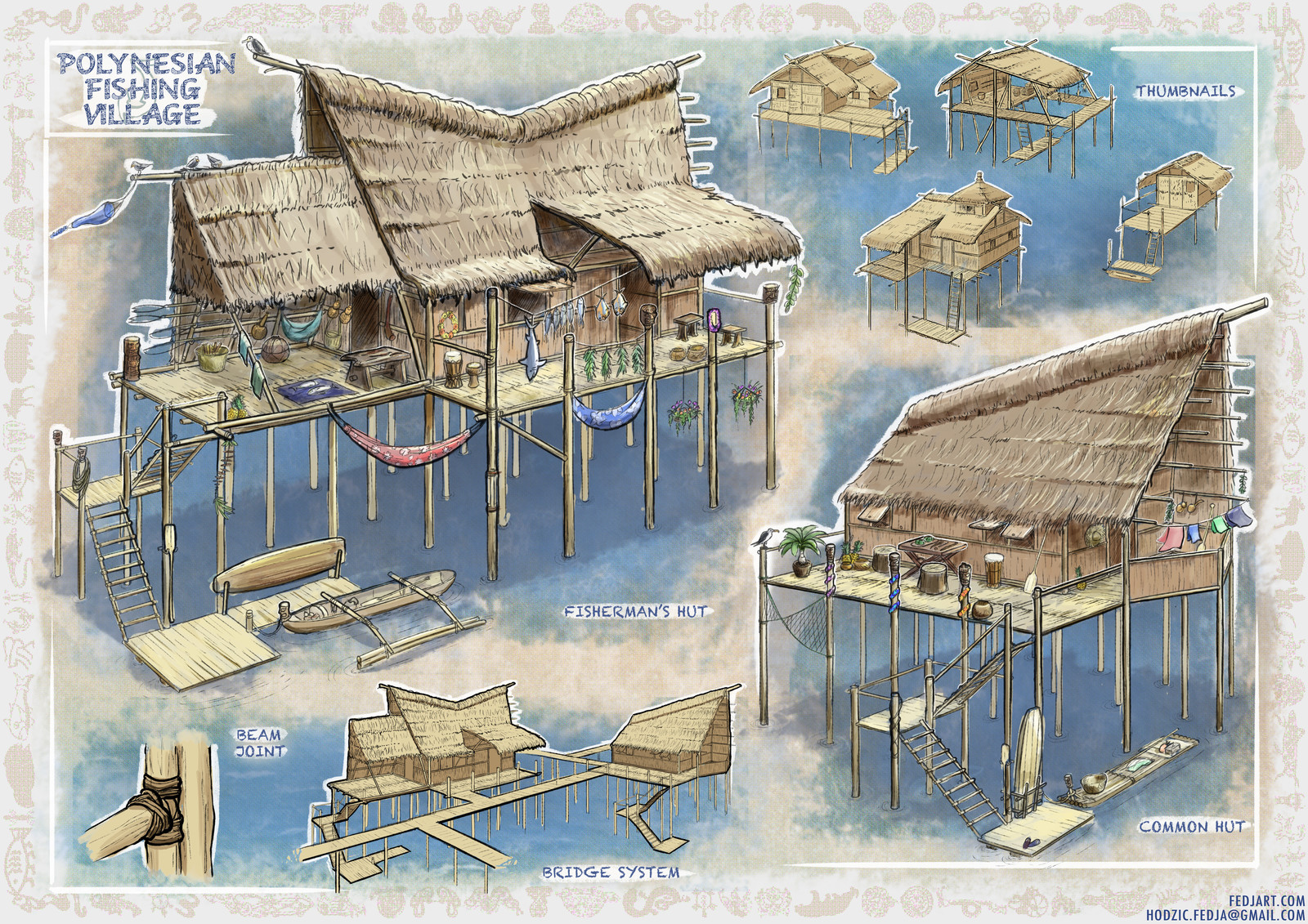 Polynesian Fishing Village