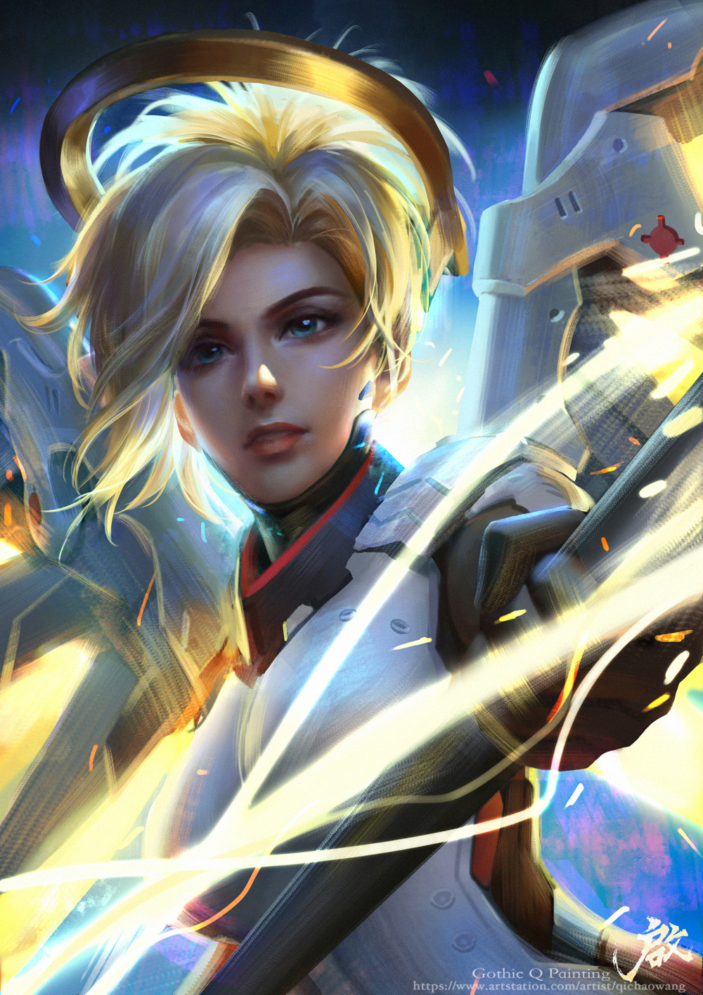Qichao wang mercy final
