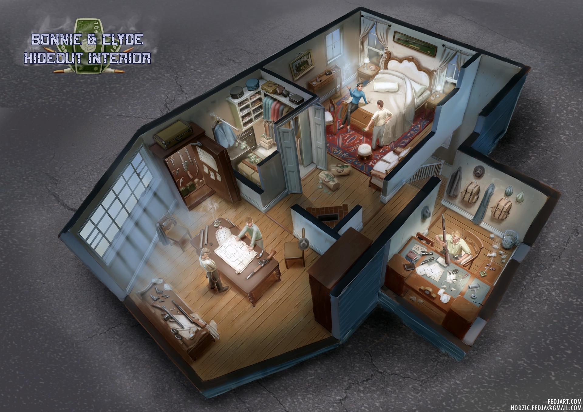Hideout interior