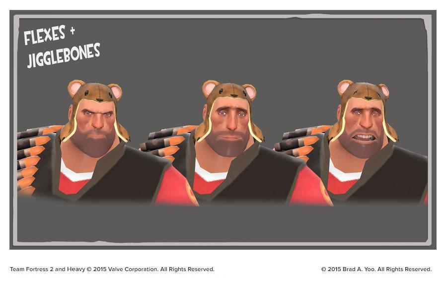 Brad yoo bear hugger blendshapes