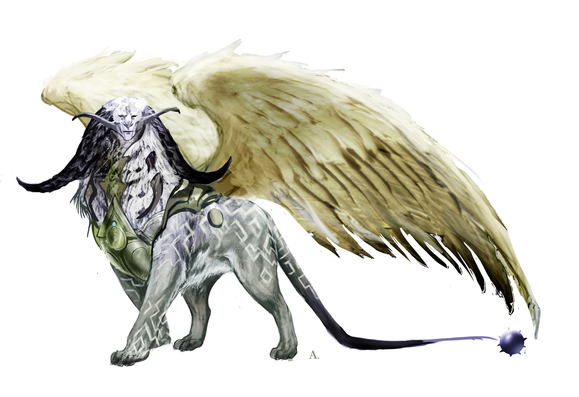 Aleksi briclot magic hook concept azorius creature sphinx