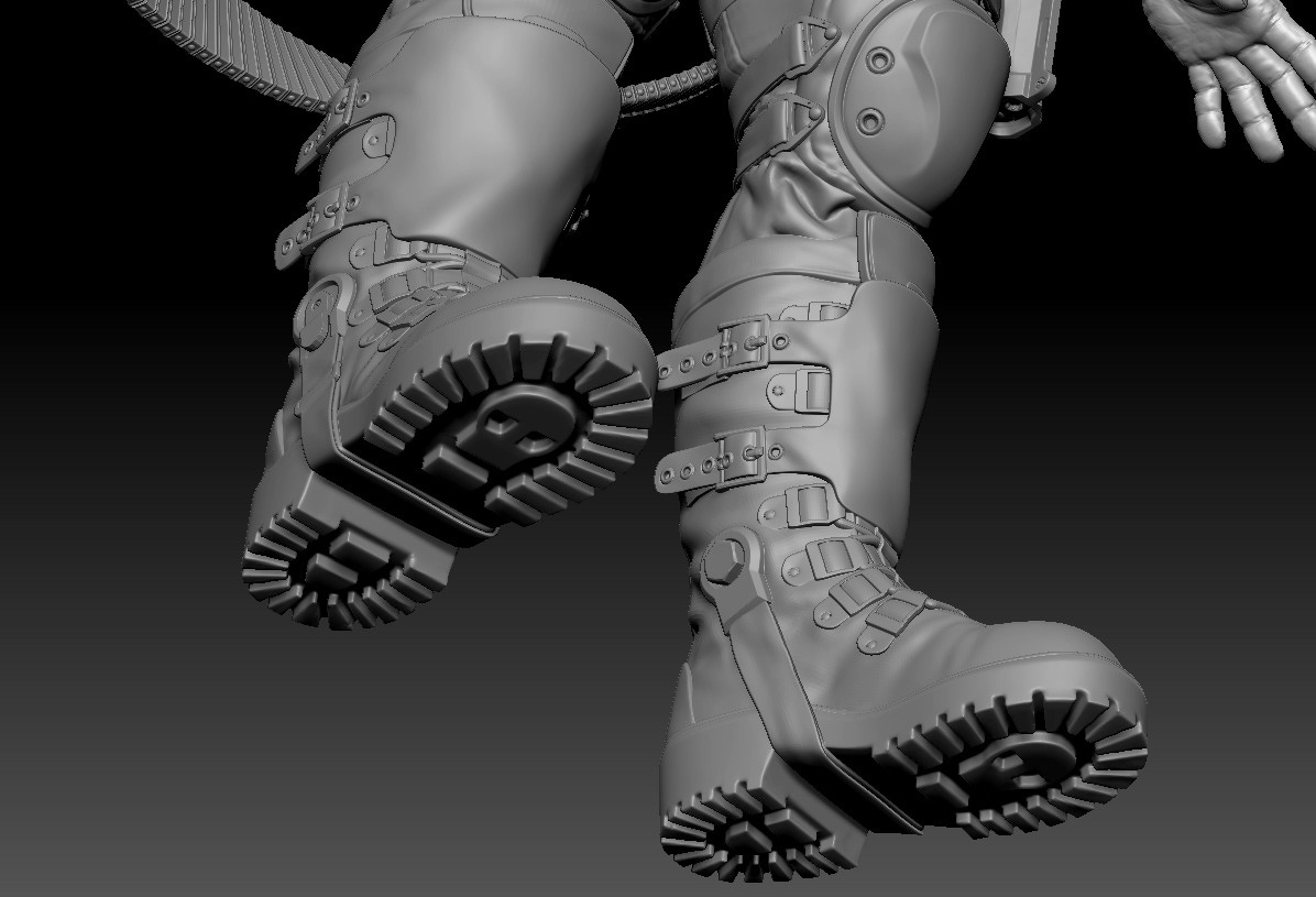 Skull boots so you can follow the path of destruction and not get lost!