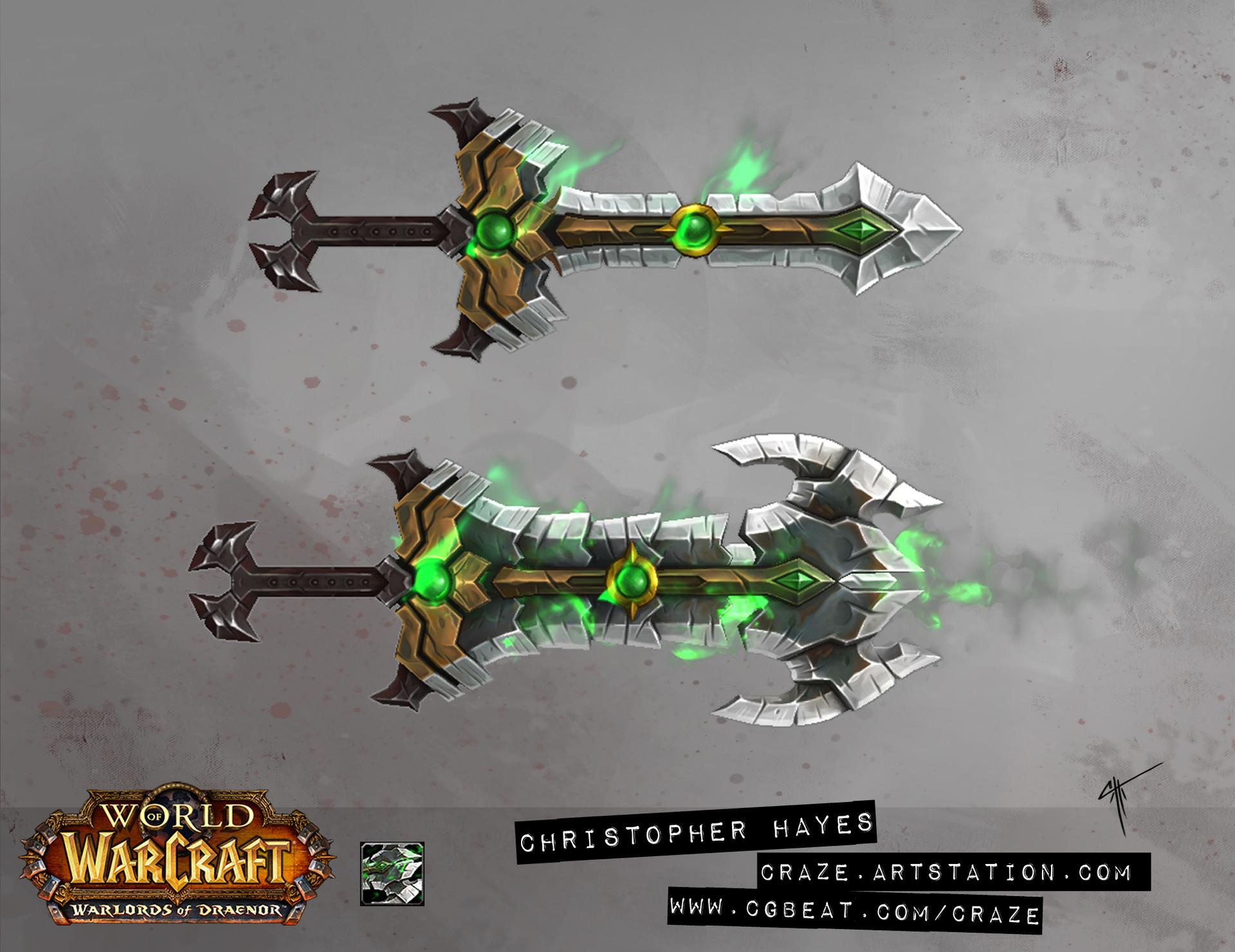 Christopher hayes challenge sword