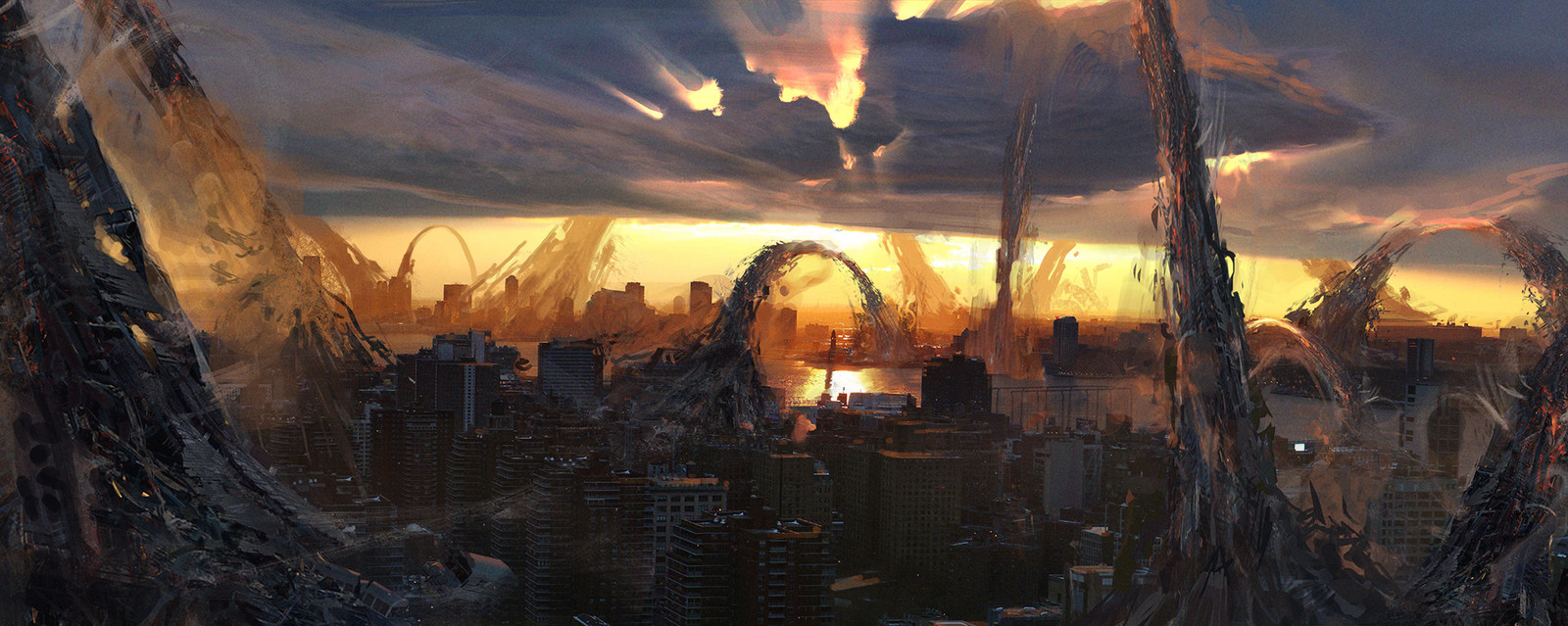 X-Men : Apocalyspe // Sunset destruction