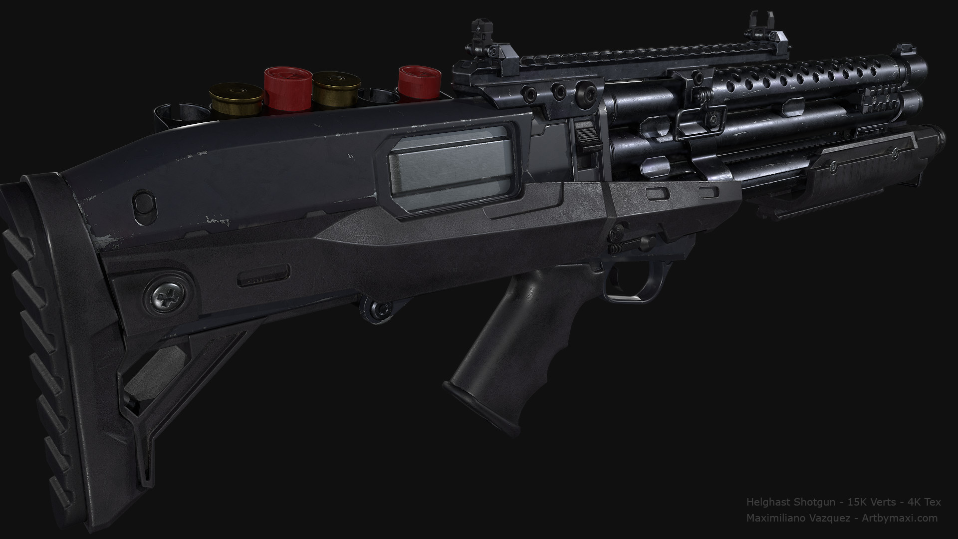 Maximiliano vazquez hellghast shotgun lp5