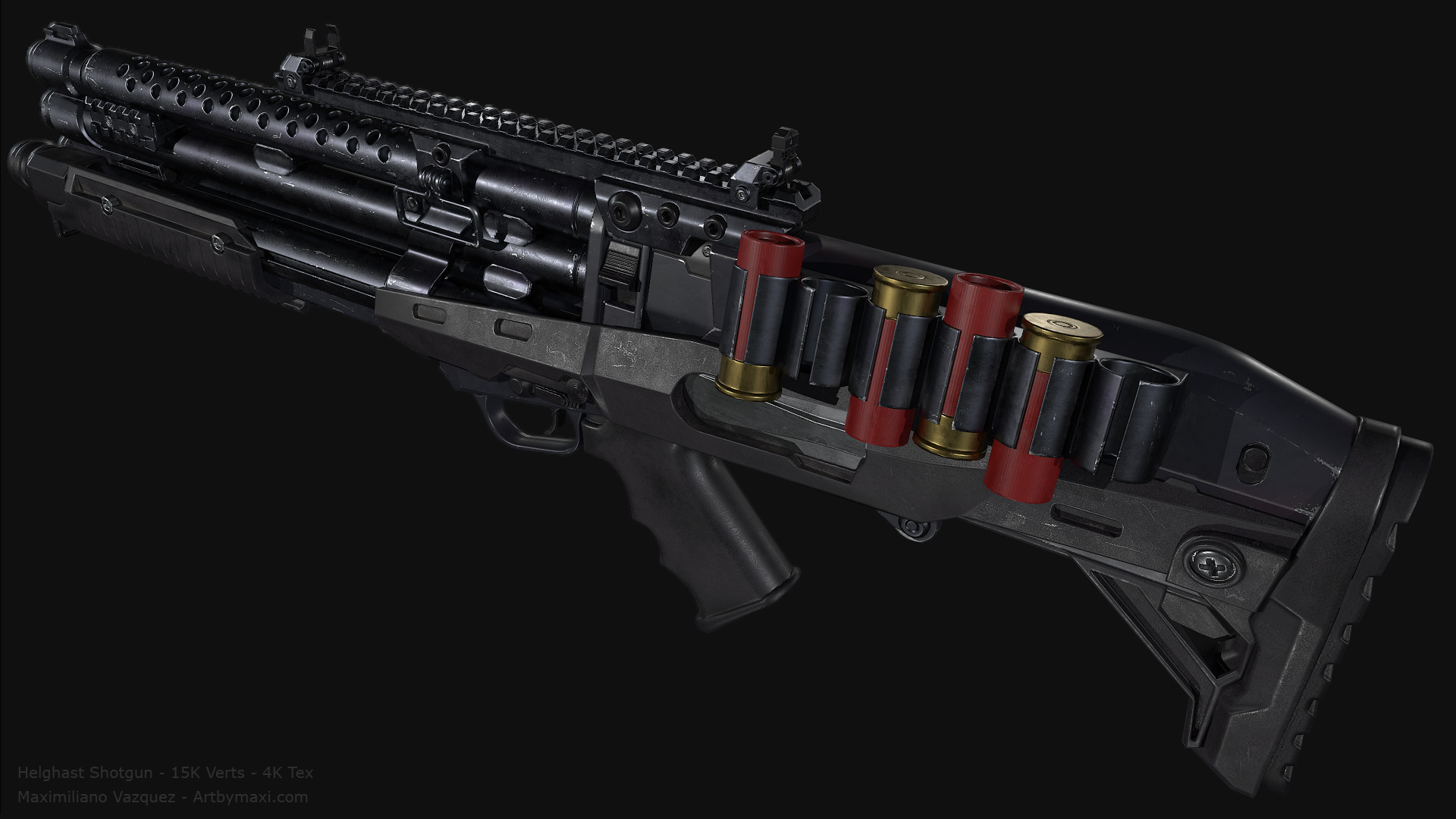 Maximiliano vazquez hellghast shotgun lp1