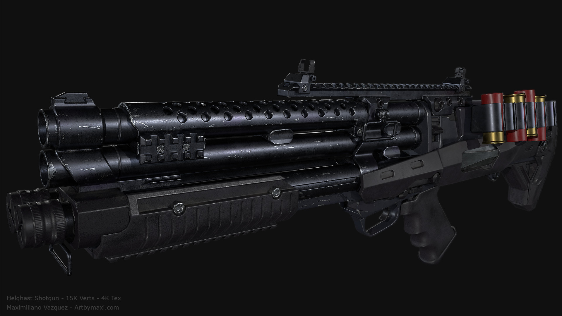 Maximiliano vazquez hellghast shotgun lp3