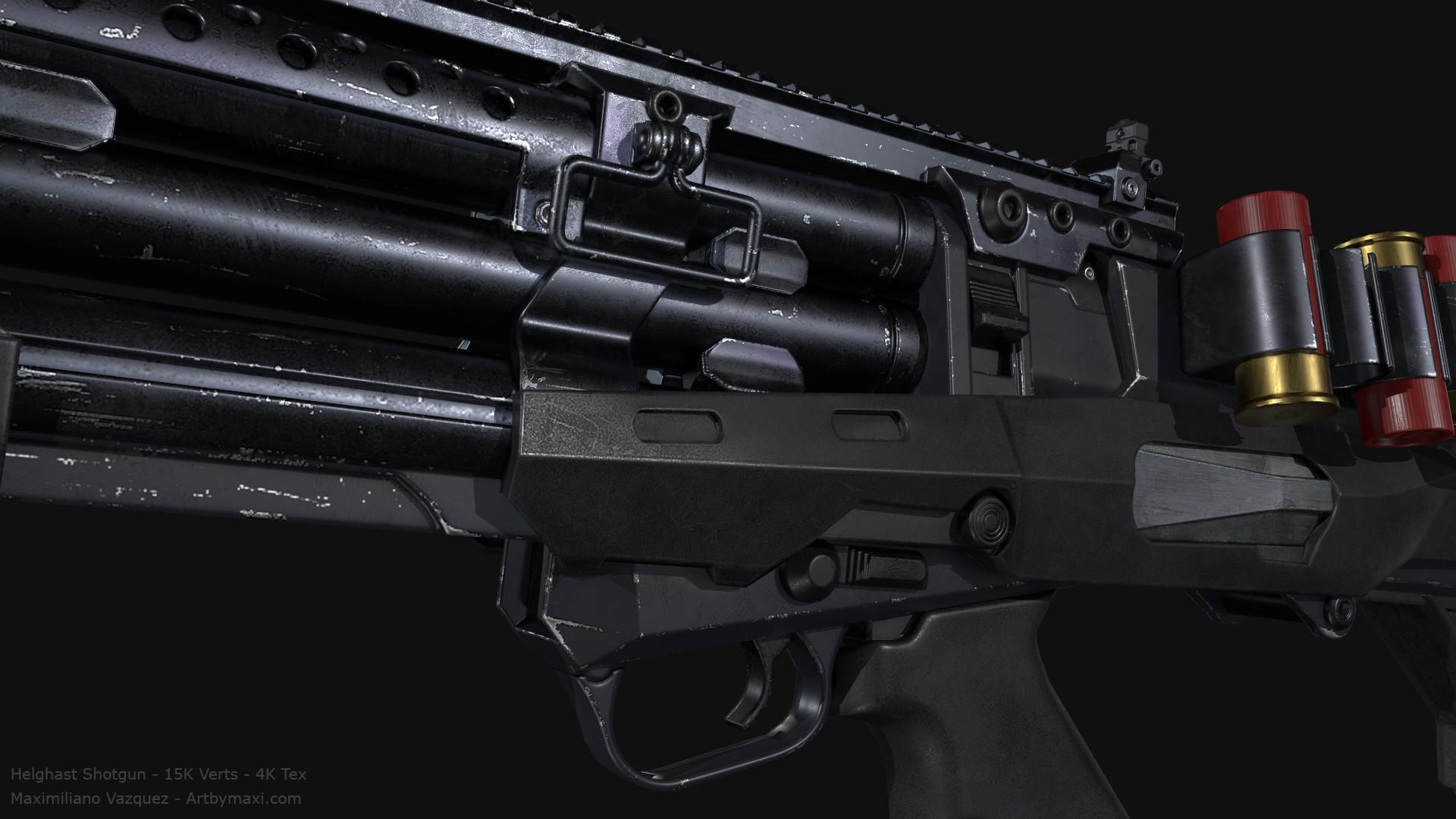 Maximiliano vazquez hellghast shotgun lp11