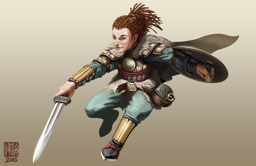 List Of Synonyms And Antonyms Of The Word Halfling Warrior