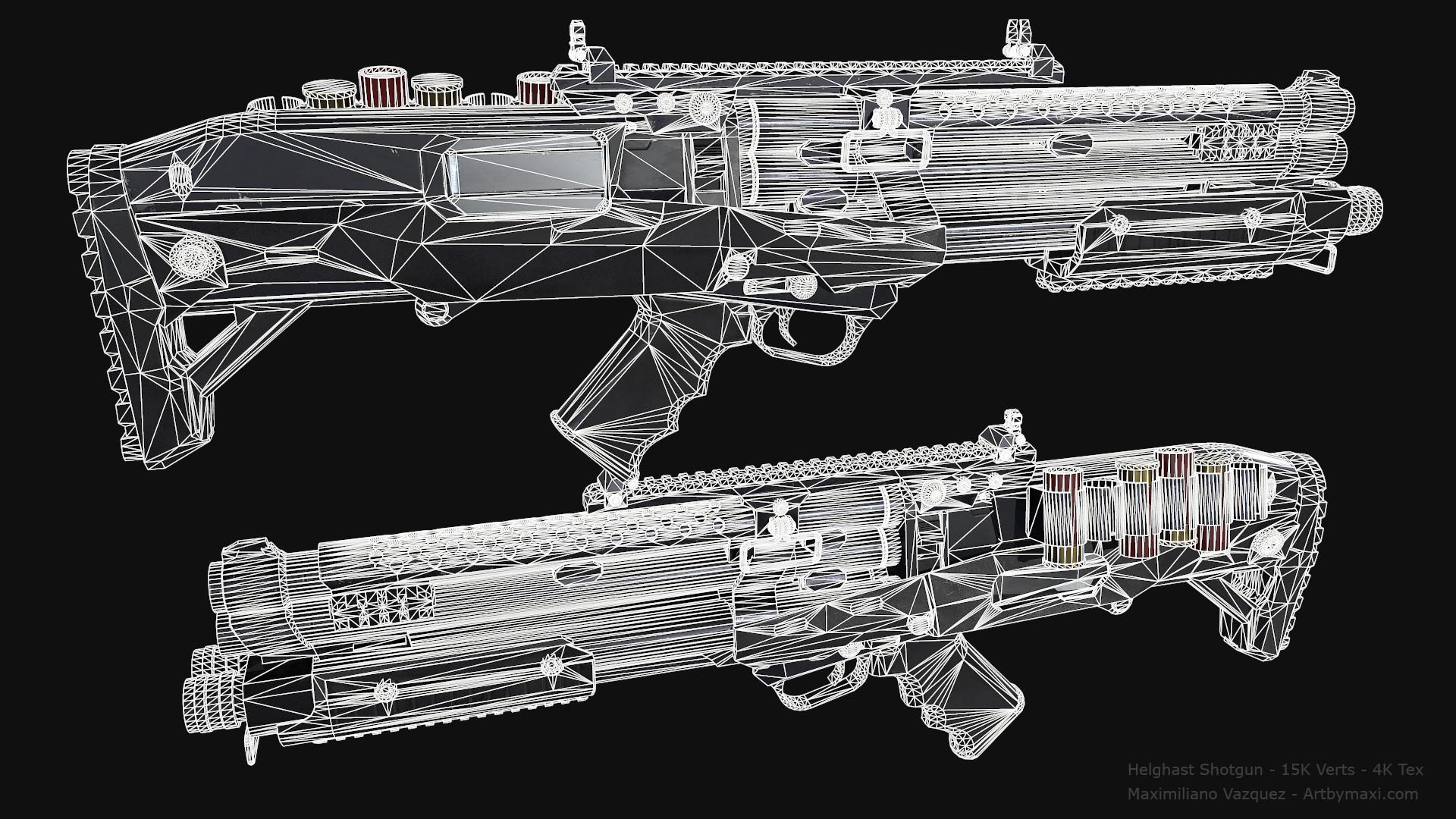 Maximiliano vazquez hellghast shotgun lp13