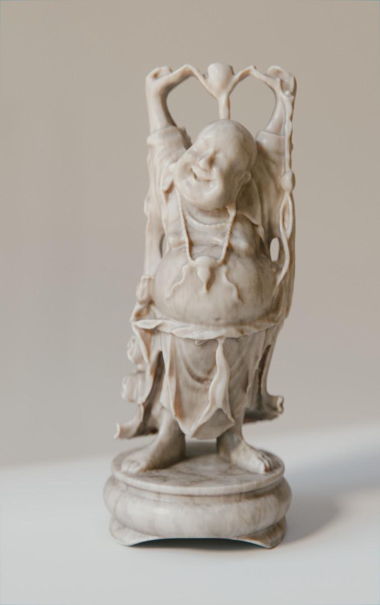 Anthony pilon happy buddha marble