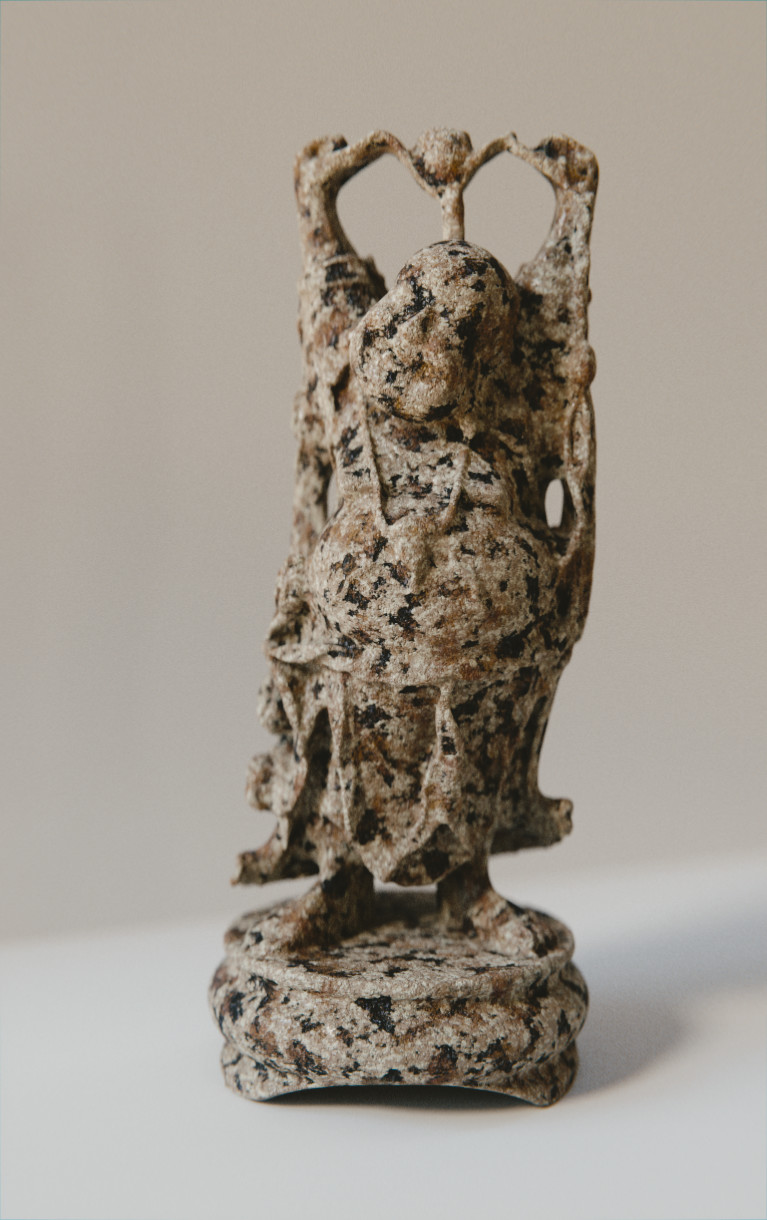 Anthony pilon happy buddha granite