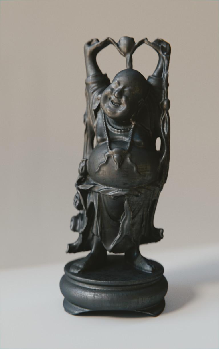 Anthony pilon happy buddha graphite