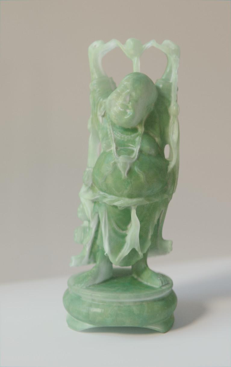 Anthony pilon happy buddha jade