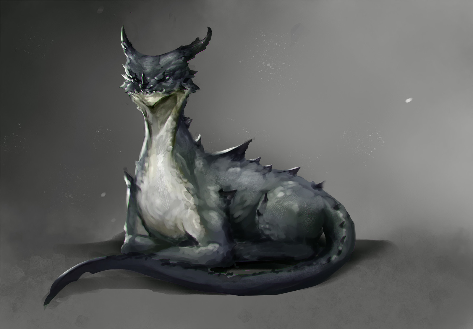 Relaxed dragon